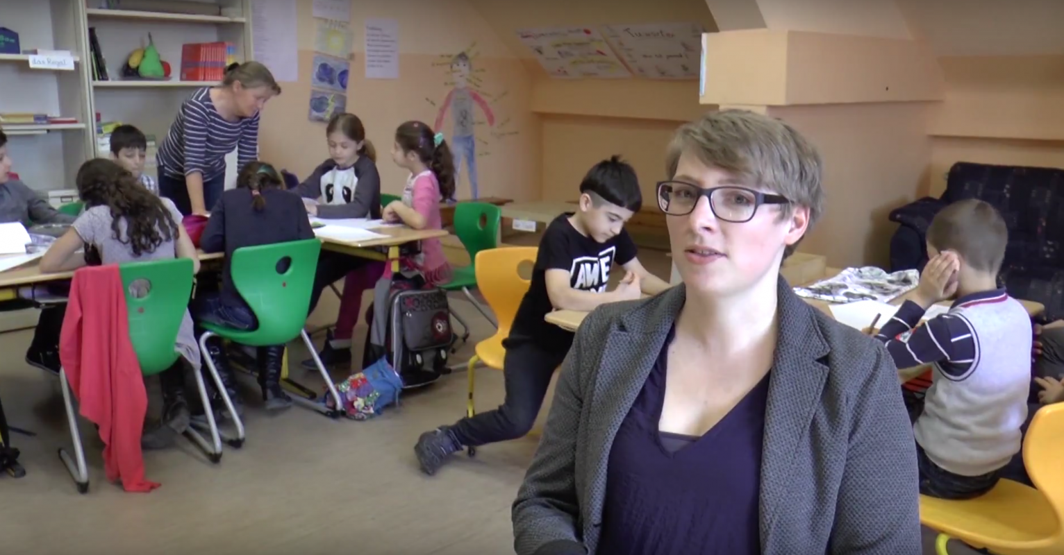Bildungsengel-Projekt im Film